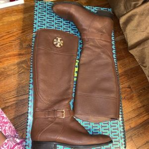 Tory Burch riding leather boots